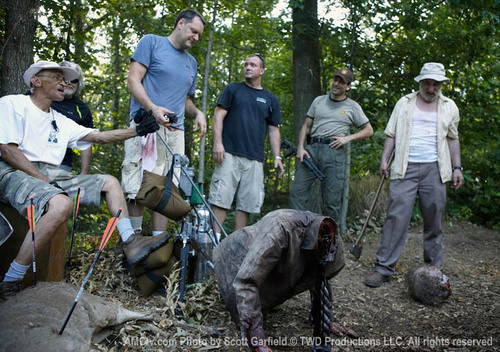 TWD behind the scene