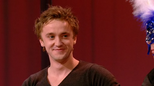 "Tom Felton in ""What's my line?"""