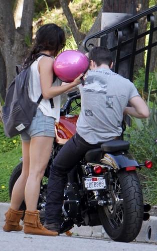 Vanessa & Josh out in Studio City