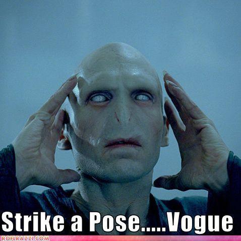 Voldemort is in Vogue!