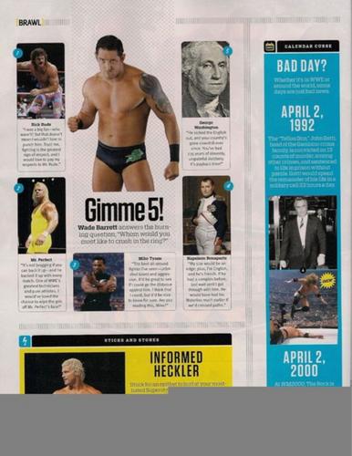Wade Barrett-WWE Magazine