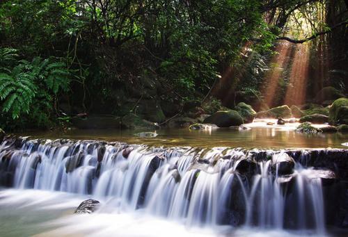 Waterfalls are enchanting