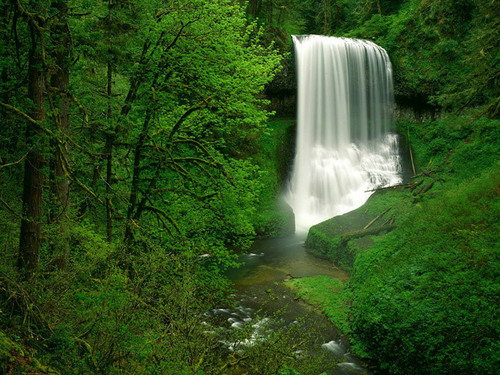 Waterfalls are enchanting