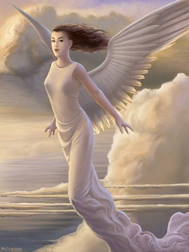 We are all angeli with only one wing and we can only fly da embracing one another