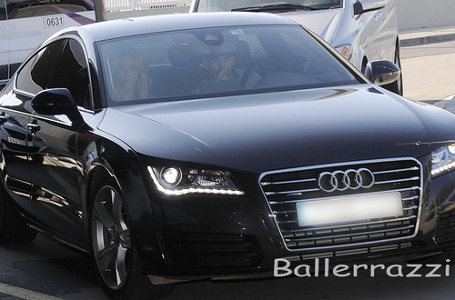 photo of Gerard Piqué Audi - car