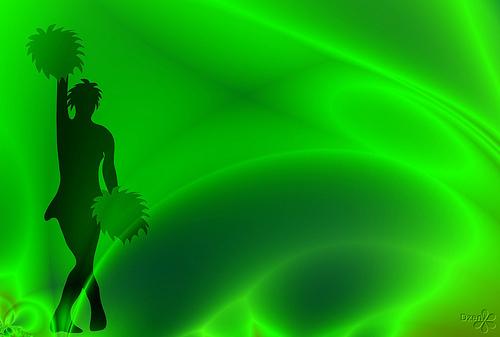 dance green!!!!