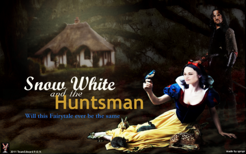 Snow White and The Huntsman wallpaper titled fan art wallpaper
