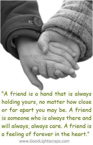 frnds holding hand