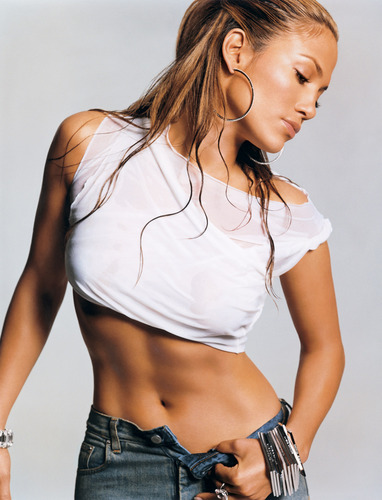 Jennifer Lopez wallpaper probably with hot pants and a hip boot titled j.lo photoshoot