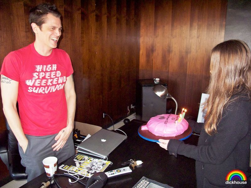 johnny knoxville's 40th birthday 사진