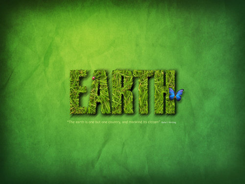 사랑 the earth!