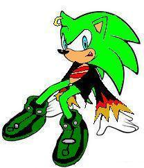 my version of scourge the hedgehog