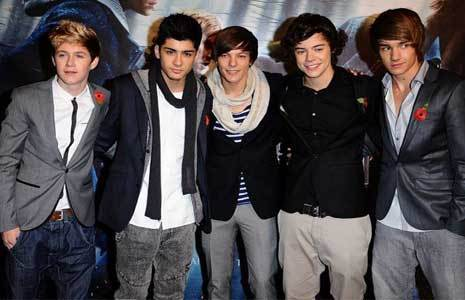 one direction the x factor