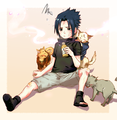 sasuke is cute