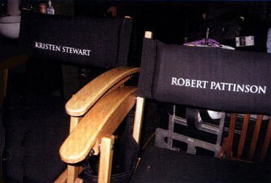 set chairs. (Eclipse and Twilight) of Robert and Kristen