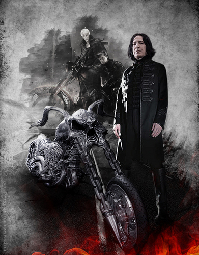 Severus Snape wallpaper probably with a fire entitled severus snape