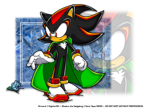 Shadow The Hedgehog kertas dinding possibly containing Anime titled shadow the hedgehog