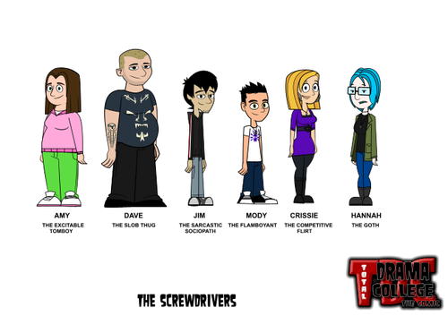 the screwdrivers
