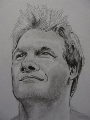 wwe chris jericho i paint this pic