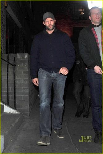 Soho with Jason Statham!