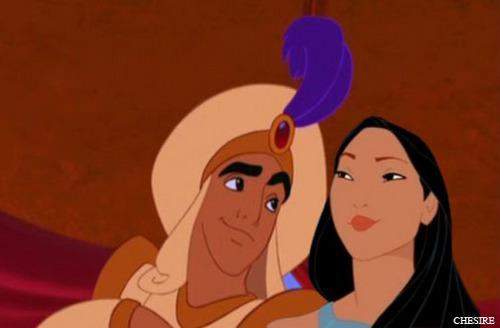 Aladdin/Pocahontas