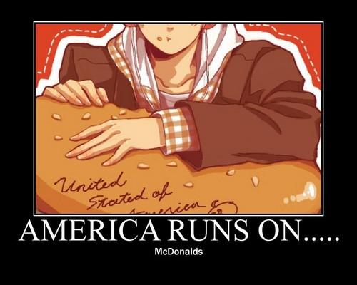 America runs on...