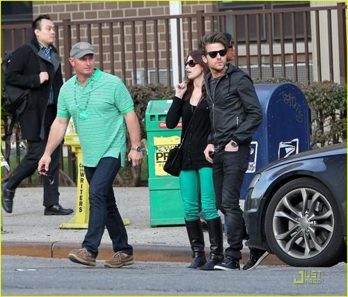 Ashley Greene & Jared Followill: St. Patrick's dia Drinks!