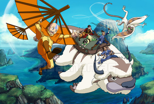Avatar: The Last Airbender wallpaper called Avatar -Caught by the Wind