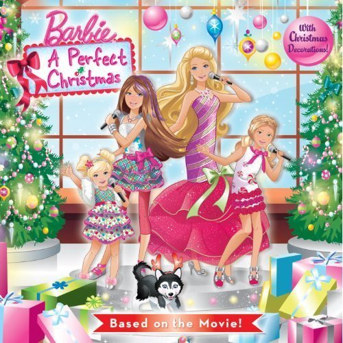 Barbie A Perfect Christmas book - barbie-movies photo
