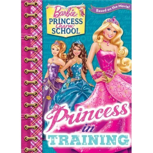 바비 인형 Princess Charm School book