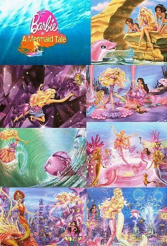 barbie in mermaid tale wallpaper called Beautiful Merliah's Image