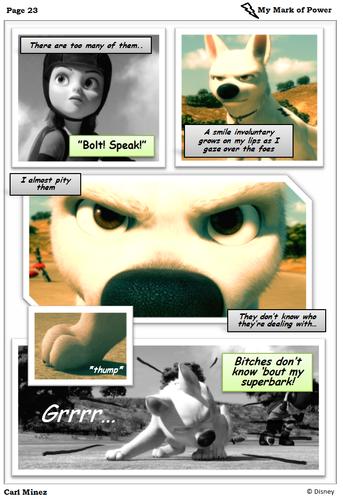 Bolt comic test
