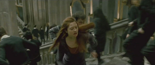 Bonnie as Ginny in Harry Potter and the Deathly Hallows Part 2!