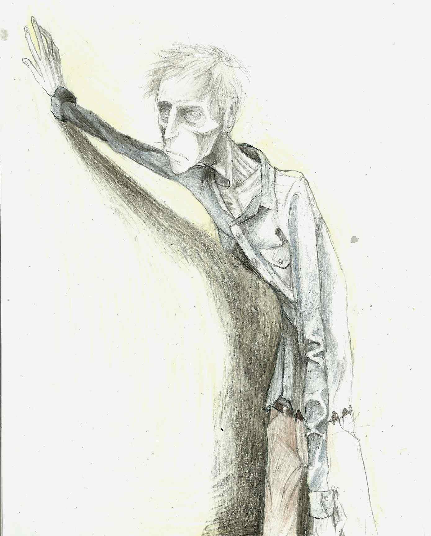 Boo Radley drawing