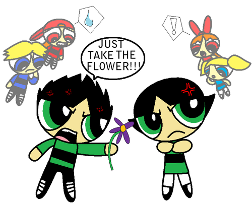 Butch+buttercup=LOVE AND HATETRED