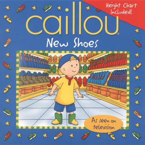 Caillou's New Shoes