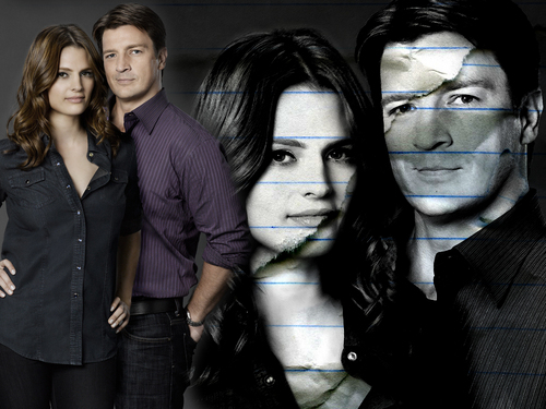 Castle & Beckett wallpaper containing a business suit, a suit, and a well dressed person entitled Castle & Beckett