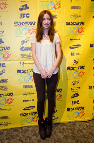 Christian Serratos at 2011 SXSW Music, Film and Interactive Festival - '96 Minutes' Premiere
