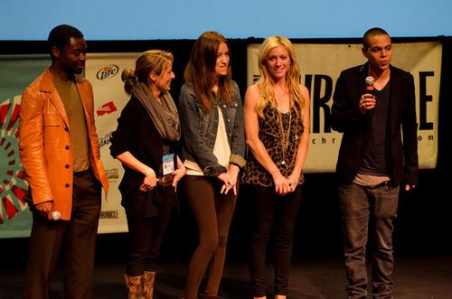 Christian Serratos at 2011 SXSW Music, Film and Interactive Festival - '96 Minutes' Premiere