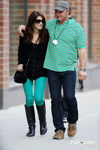 Cute #new shots of Ashley Greene w/ her dad on St. Patrick's day