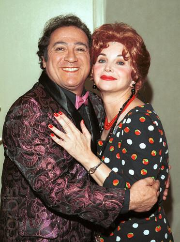 Laverne & Shirley wallpaper called Eddie Mekka & Cindy Williams