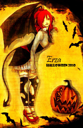 erza Halloween 2