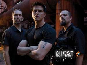 Ghost Adventures wallpaper probably containing a triceratops, a workwear, and a sod house called Ghost Adventures