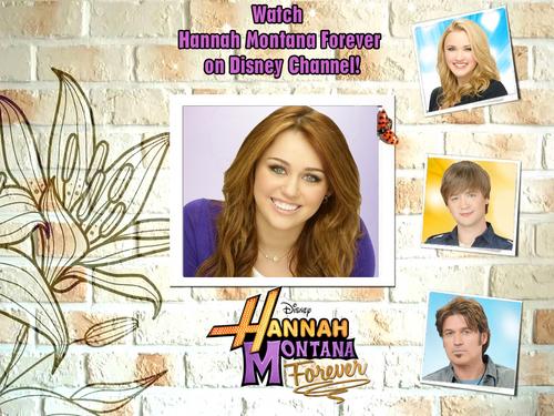 Hannah Montana Forever CaSt Exclusive 迪士尼 & Frame Version 壁纸 由 dj!!!