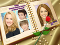 Hannah Montana Forever CaSt Exclusive disney & Frame Version wallpaper oleh dj!!!