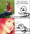Hayley Williams PWNS Cereal Guy - paramore photo
