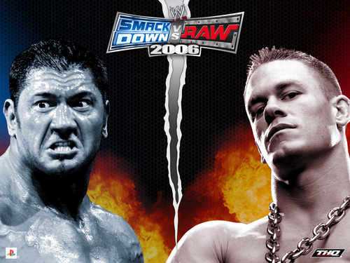 John Cena and Batista vs. Cody Rhodes and Ted DiBiase - World Tag ...