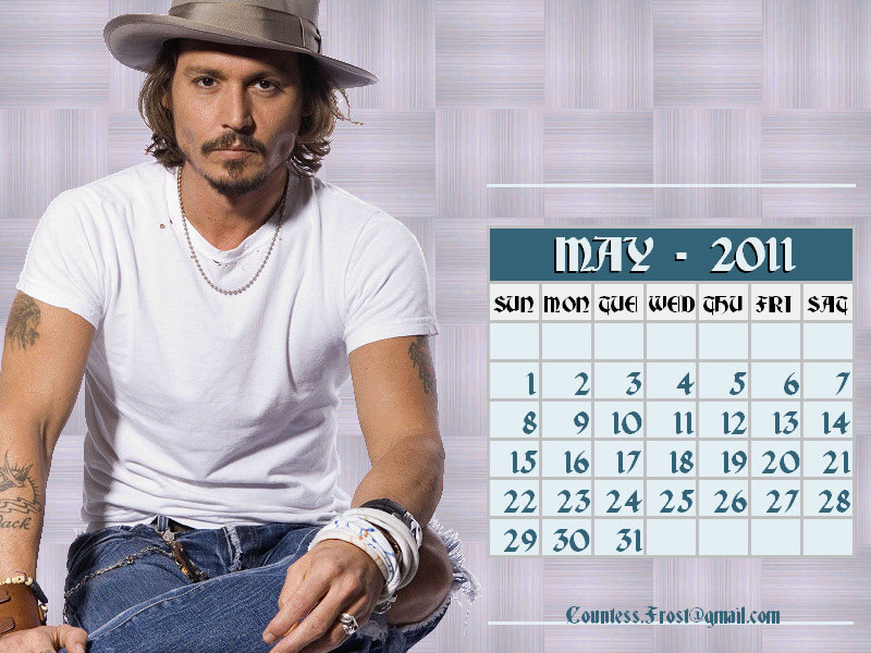 may 2011 calendar images. Johnny - May 2011 (calendar)