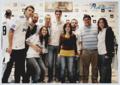 Kaka and so many fans:))