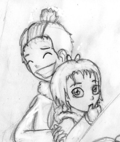 Katara and Sokka little